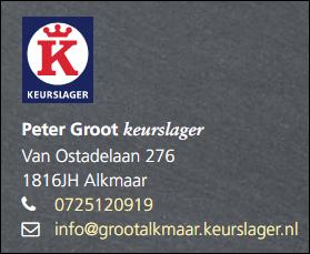 Slagerij Peter Groot, keurslager